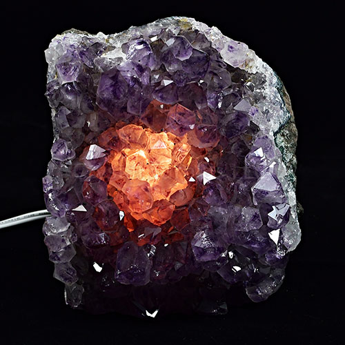 Amethyst Crystal Lamp